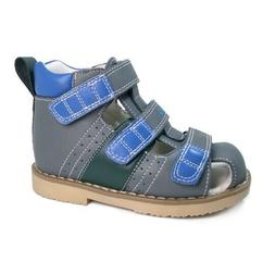 Baby Boy Close Toe Shoes Kids Toddler Leather Sandals Summer