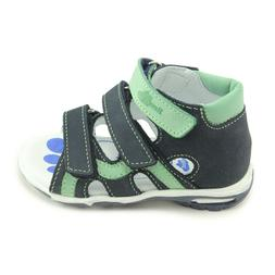 RenBut Boys Open Toe Orthopedic Sandals  Made in Poland