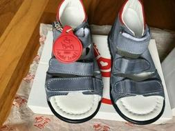 Emel Boys/Toddler Hand Made Leather Sandals/Orthopedic Made