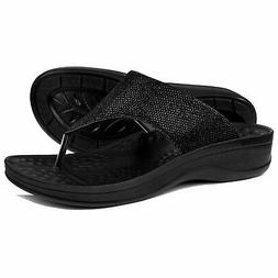AEROTHOTIC Comfortable Orthopedic Arch Support Flip Flops an