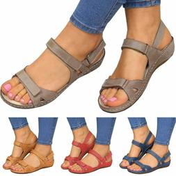 Fashion Women Premium Orthopedic Open Toe Sandals Summer Bea
