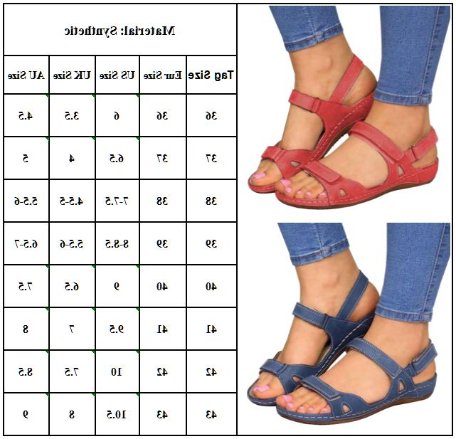 Womens Orthopedic Open Toe Summer Casual Daily
