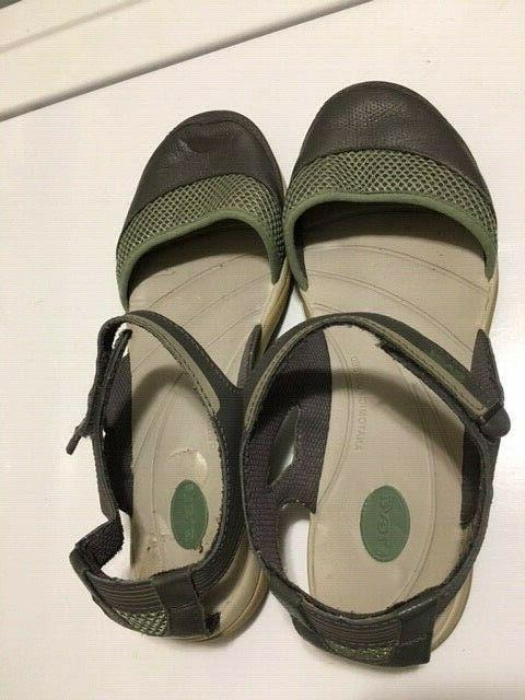 PASAS MARY JANE FOOTBED SANDALS 9.5M
