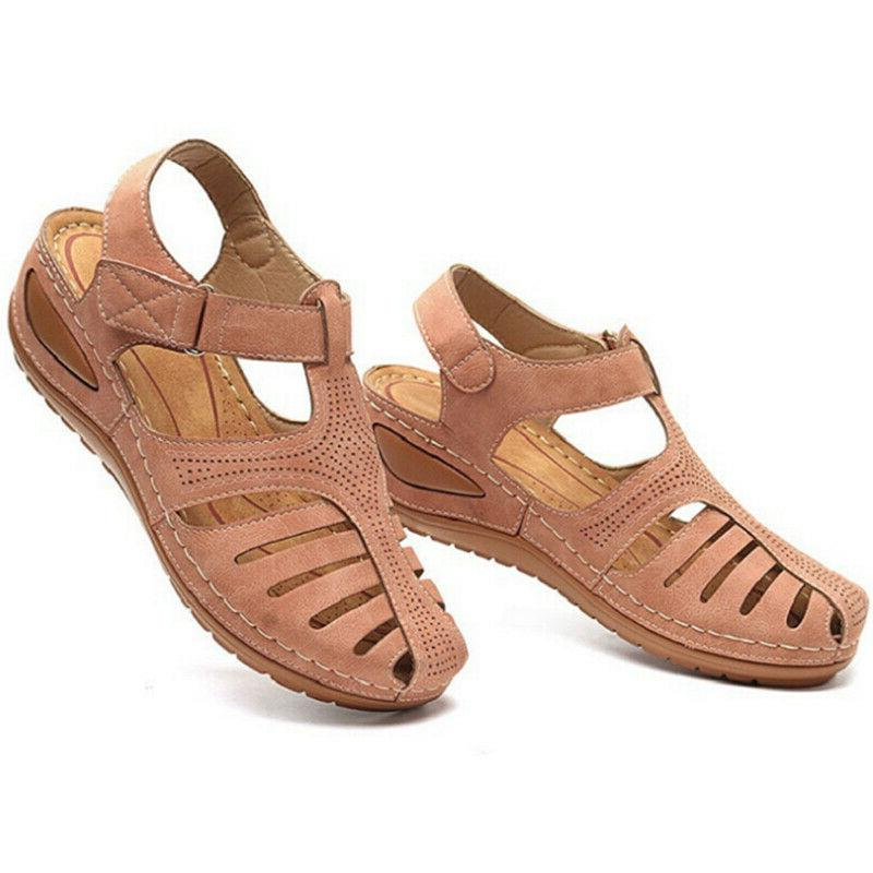 Womens Sandals Lady Closed Mules Comfy Casual