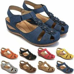 Women Flat Shoes Orthopedic Sandals Lady Closed Toe Mules Co